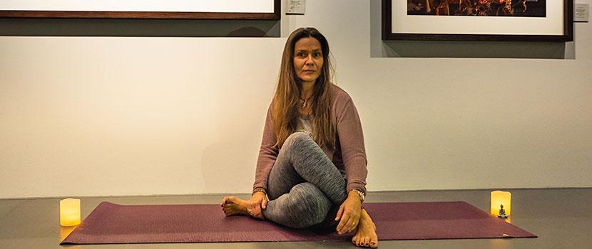 Afterski yoga på Kvitfjell i vinterferien : Grønnere på din side